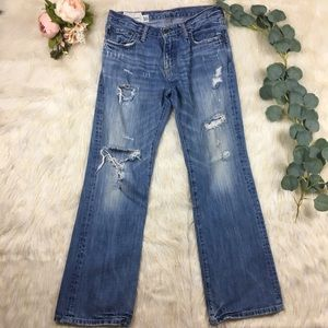 🍍5/$25 Vintage Wash Ambercrombie&Fitch Jeans SZ16
